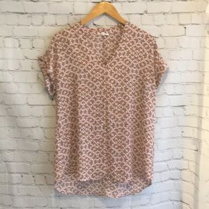 Pleione high low blouse - like new!